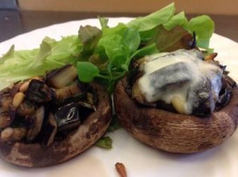 aubergine lucy bee mushroom